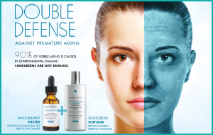 Double Defense premature aging